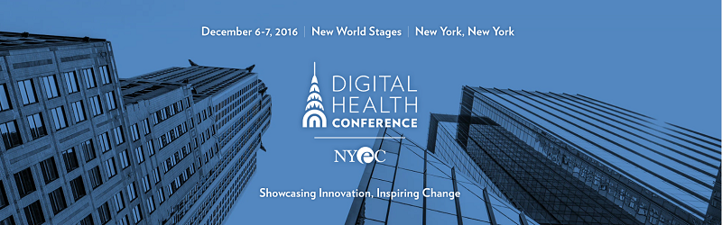 Digital Health Conference December 6-7 2016